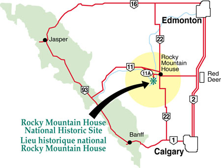 How to Get to Rocky Mountain House National Historic Site