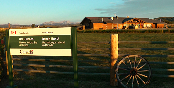 Bar U Ranch National Historic Site