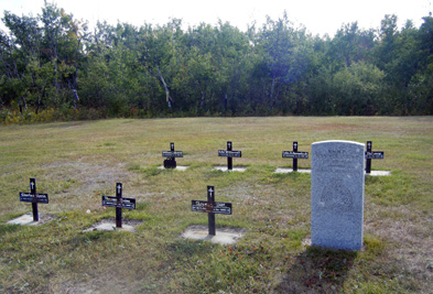 Cemetery at Frog Lake