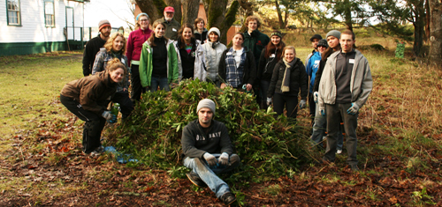 WANTED:  Hands-on volunteers who can help restore a sensitive ecosystem at one of the most beautiful places anywhere
