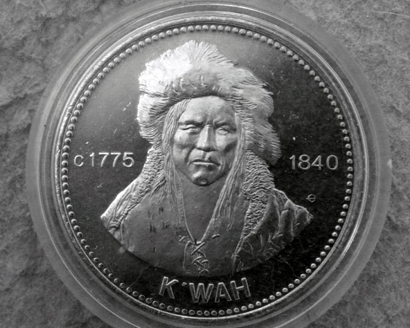 Chief Kw'eh National Historic Person