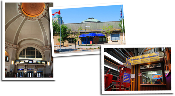 Union Station; Winnipeg Railway Museum
