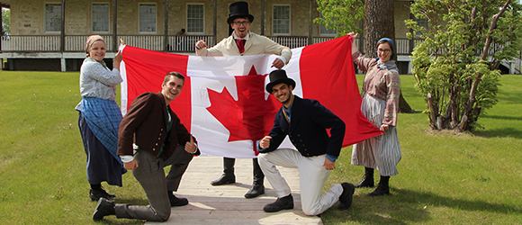 Canada Day Celebrations at Lower Fort Garry © Parks Canada