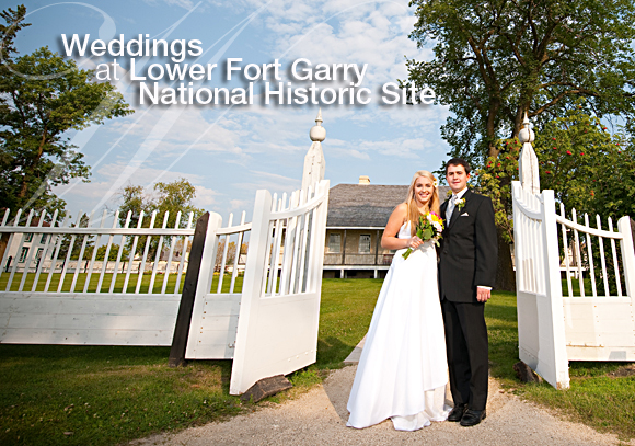 Weddings at Lower Fort Garry National Historic Site