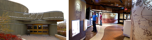 Visitor Centre; multimedia exhibit