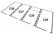 dimensions of North Front Casemates