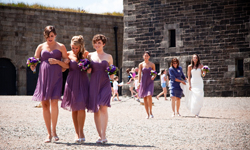 wedding photos at Halifax Citadel