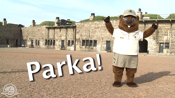 Watch as Myles and Parka get ready to carry on the tradition of the 78th Highland Regiment in protecting the Halifax Citadel National Historic Site. Be part of the Johnson 5K run at the Scotiabank Blue Nose Marathon.
