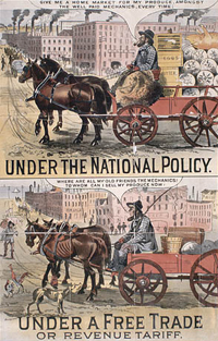 Conservative poster, 1891