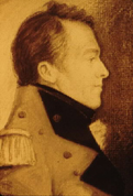 Portrait image of Major General Sir Isaac Brock