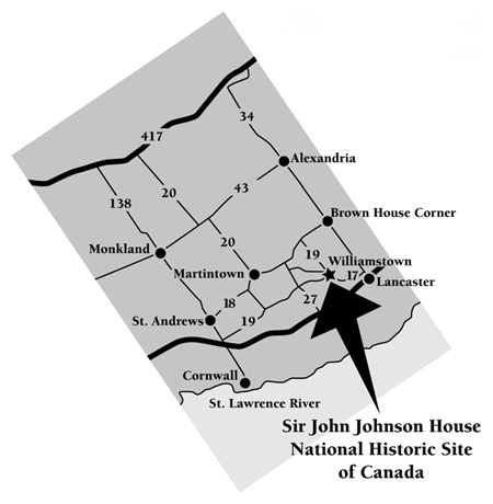 Map - Sir John Johnson House NHS