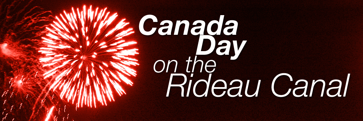 Canada Day on the Rideau Canal