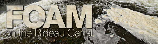 Foam on the Rideau Canal