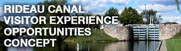 Rideau Canal Visitor Experience Opportunities Concept