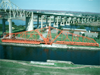 Emergency Swing Bridge Dam