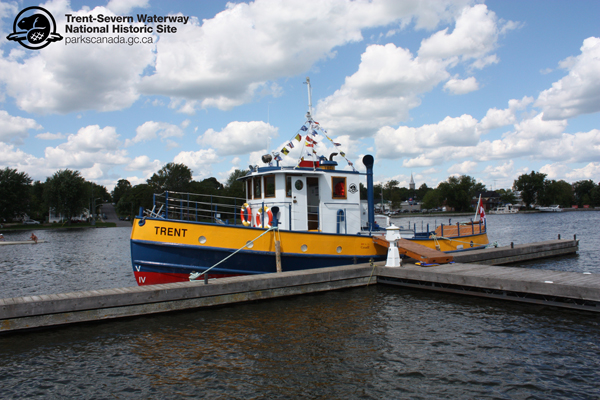 It's a great day to be on the Trent-Severn Waterway! The Trent Tug had a busy day at the Hastings Waterfront Festival.