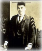Graduation photo of William Lyon Mackenzie King