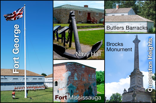 Fort George's cultural heritage buildings