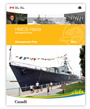 HMCS Haida Management Plan 2011