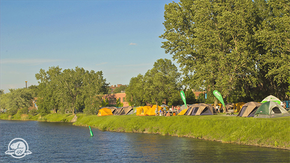 Learn to Camp at Lachine Canal - Presented by Parks Canada and Mountain Equipment Co-op, the Learn to Camp week-end is taking place at Lachine Canal National Historic Site! Îlot Charlevoix will be transformed into a campground for a weekend bursting with fun activities.