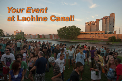 Your Event at Lachine Canal!