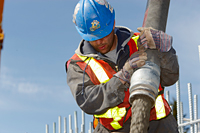 A Skilled Worker Ensures The Maintenance Work