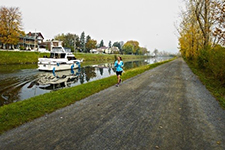 Chambly Canal's path