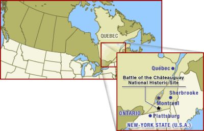 General map of Canada and Quebec