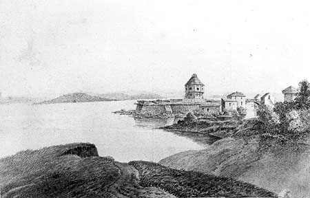 The Coteau-du-Lac Fort, 1824