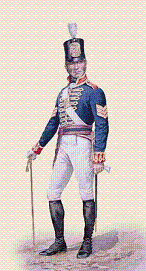 Artillery Sergeant from the Royal Artillery. Between 1806 and 1812