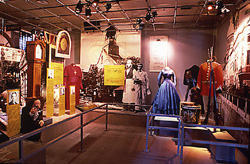 An exhibition room