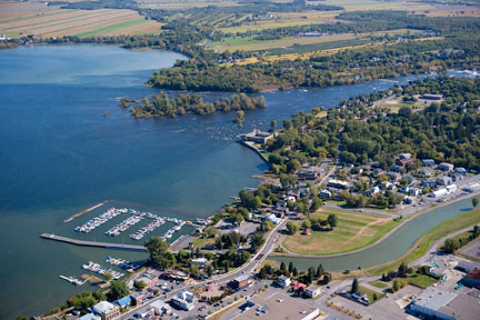 Aerial View of Chambly