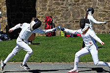 Outdoor Tournament in Open Mixed Epee