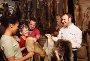 In the voyageurs footsteps