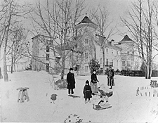 Old-Time Winter Activities at the Manor