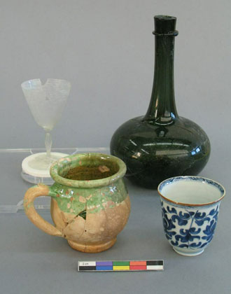 Glassware and Potery