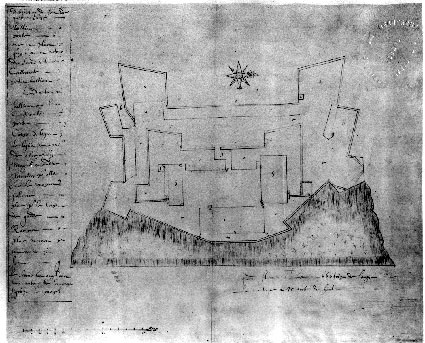 Description of the fort, Quebec 1635