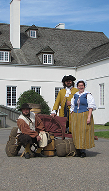 Meet some historical characters all day long!