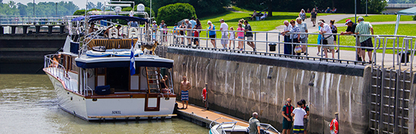 Go through the lock of history at Saint-Ours Canal