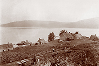 Historic picture of Fort Témiscamingue, between 1918-1955