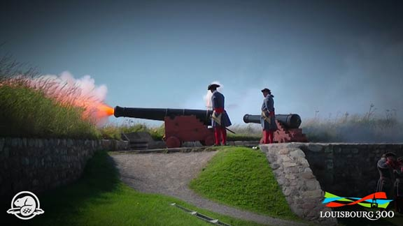 Louisbourg 300 Promo - Get ready for a celebration three centuries in the making! Join us in 2013 for Louisbourg300, a grand fête marking the 300th anniversary of the founding of Ile Royale – modern day Cape Breton Island – with Louisbourg as its capital.