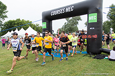 MEC Marathon at the Chambly Canal