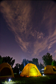 An Unforgettable Camping Experience on the Banks of the Chambly Canal