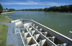 The Vianney-Legendre fishway ladder