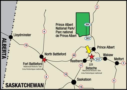 Directions to Batoche