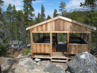 Bare Loon shelter