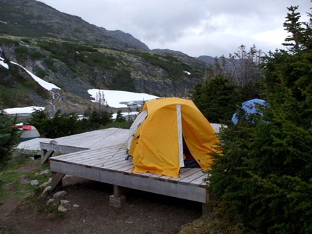 Campsites at Happy Camp
