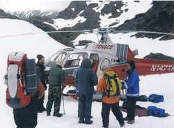 Between one and five helicopter assisted evacuations occur each year