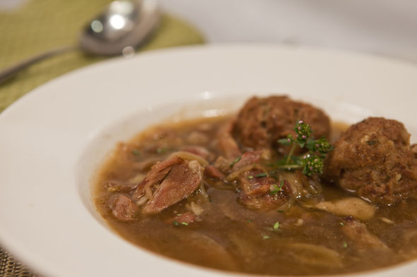 Marm Bailey's Moose Muffle Soup