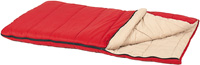 Rectangular-shaped sleeping bag